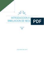 Introduccion a La Simulacion de Negocios