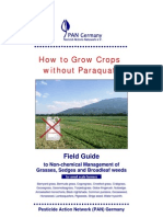 How to Grow Crops without Paraquat - Field Guide  to Non-chemical Management of Grasses, Sedges and Broadleaf weeds