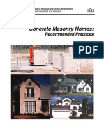 Concrete Masonry Homes