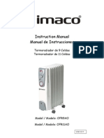 Manual User Imaco Radiador