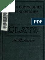 Glina i Glineni Proizvodi 1915