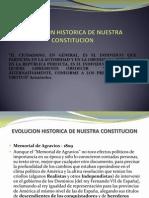 evolucionhistoricadenuestraconstitucion-110604110533-phpapp02