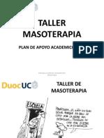 Taller de Masoterapia 1
