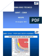 Palestra NBR 13103