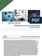 JPM Healthcare FINAL Danaher