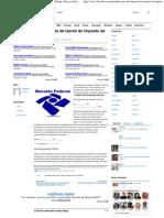 Modelo Para Declaração de Isento do Imposto de Renda _ Dicas na Internet
