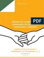úlceras -  hanseníase e diabetes
