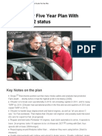 ReidC-Chrysler Five Year Plan 2012