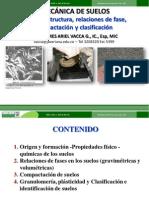 Presentación 2. Fábrica, estructura, relaciones de fase, compactación y clasificación_1330_V1
