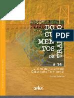 2011-09 Visión del futuro del Desarrollo Territorial - Galarza - CT CEPLAN 14