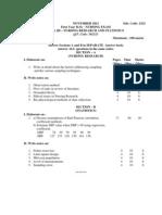 Nursing statistics