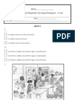 Ficha Diagnc3b3stica de Lp 3c2ba Ano Setembro de 2011