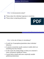 Advanced Microeconomics 2013 (Slide 1)