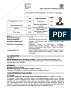 Distributed computing resume cv iit