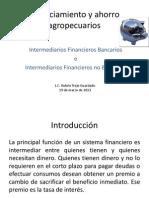 Financiamiento y Ahorro Agropecuarios