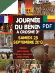 Journee Beninoise a Crosne ( 91560) en Region Parisienne Le Samedi 28 Sept 2013