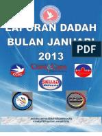 Laporan Dadah Bulan Januari 2013