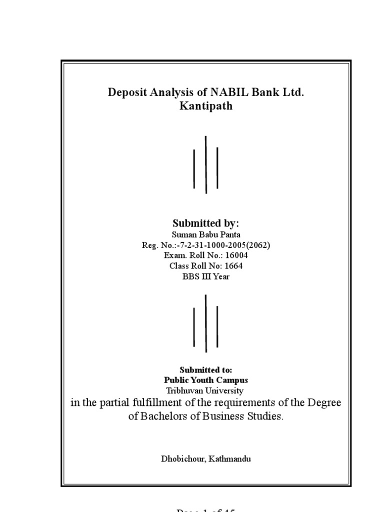 Deposit analysis of nabil bank ltdplease comment after read this deposit analysis of nabil bank ltdplease comment after read this banks deposit account 1betcityfo Images
