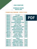 1bordeaux Price List