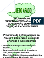 Slides Projeto Afago
