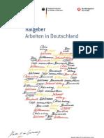 Ratgeber Arbeiten in Deutschland