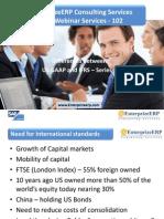 EnterprizeERP - Finance Transformation - IfRS Series US GAAP and IFRS - Series-1