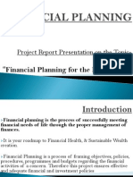 Financial Planning- Final Ppt