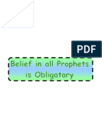 Prophethood Part 1-1 Belief in All Prophets is Obligatory