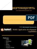 Mobile Applications Development- J2ME, iPhone, Blackberry, Android, Windows Mobile, Brew, Symbian