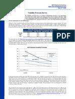 Volatility Survey