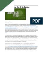 Re-Examining the Arab Spring