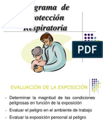 EPP Proteccion Respiratoria