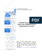 Mayer-Diseño Educativo para un aprendizaje Constructivista