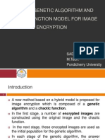 A Hybrid Genetic Algorithm and Chaotic Function Model for Image Encryption