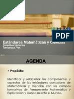 2.-Estandares Curriculares Matematicas y Ciencias