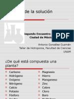 Quimica de La Solucion Nutritiva - Antonio Gonzalez