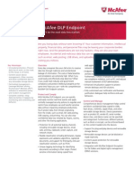 McAfee DLP Endpoint datasheet