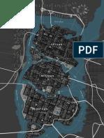 Gotham City Streetmap