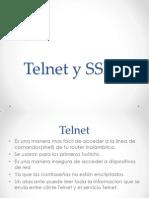 Telnet y SSH