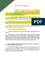 Baza legală privind amplasarea obiectivelor în zona drumului public