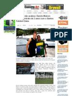 SiteBarra » O sonho não acabou_ Garoto Maicon assina contrato de 2 anos com o Santos Futebol Clube