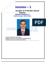 Four stroke Diesel Engine-Alfred Franklin