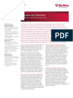 McAfee DLP Monitor datasheet