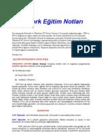 2.Network Eğitim Notları
