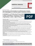 ESPECIALGuía de práctica clínica basada en la evidencia para el manejode la sedoanalgesia en el paciente adulto críticamente enfermo 2013 (2)