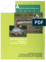 35 - Sex Reversal of Tilapia in Earth Ponds