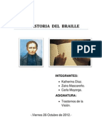 La Historia Del Braille