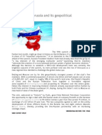 The Rise of Sinorussia and Its Geopolitical Consequences