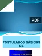 Postulado Basico de Contabilidad Gubernamental