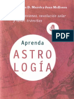 Aprenda Astrologia Vol 4 Completo- Marion d March y Joan Mcevers
